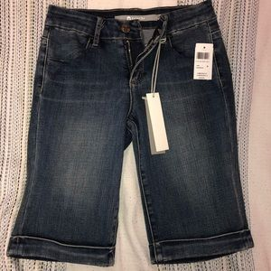 mid-rise tractr brand jeans